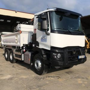 Camion grue 15t